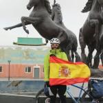 Mongolia bandera España